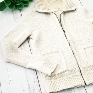 Sweaters - Anthropology Sleeping On Snow Zip Up Sweater